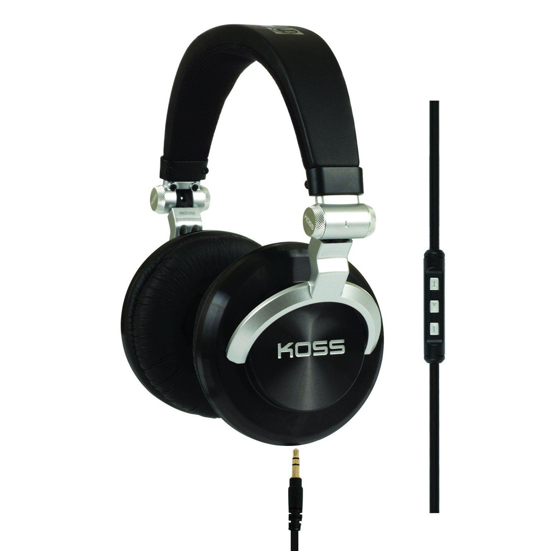 Koss ProDj200 Studio Headphone Silver