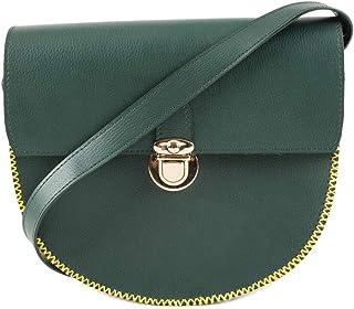 Bundled Woods Olive Sling Bag