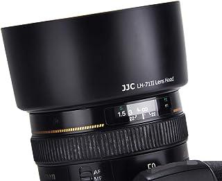 JJC ES-71II Reversible Lens Hood Shade Bayonet for Canon EF 50mm F1.4 USM Lens , Replaces Canon ES-71II Lens Hood