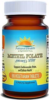 Sponsored Ad - Active Folate Quatrefolic Acid 5-MTHF Methylfolate Smart Choice for Prenatal Heart & Brain Development vs S...