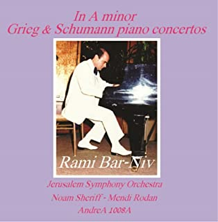 In A Minor, Piano Concertos by Grieg and Schumann