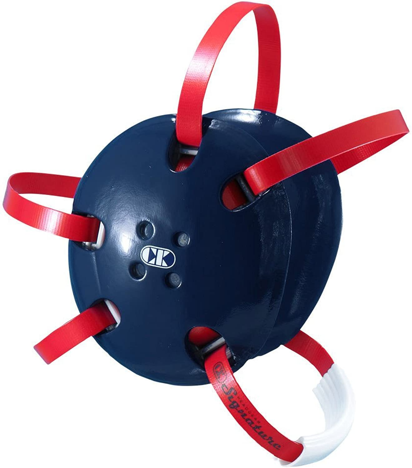 (Navy blueee with Red Straps) - Cliff Keen E58 Headgear