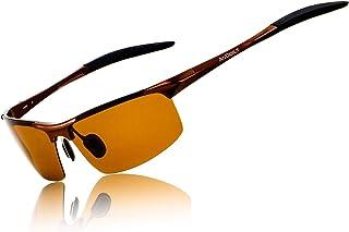 Sponsored Ad - ANDOILT Mens Sports Polarized Sunglasses UV Protection Sunglasses for Men Fishing Driving