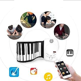 Hand Roll Piano/Keyboard Rockjam/Keyboard Musical Instrument /88 Keys Piano Portabl Musical Instrument Portable/USB Soft F...