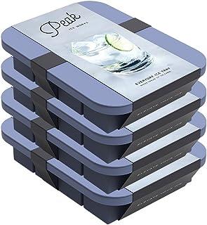 W&P WP-ICE-ED-BL1-4 Everyday Ice Tray, Silicone, Peak Blue