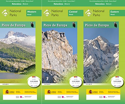 Parque Nacional de Picos de Europa (inglés)