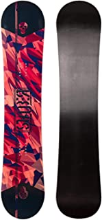 STAUBER Summit Snowboard, Size 161, 158, 153, 148, 143, 138, 133, 128 - Best All Terrain, Twin Directional, Hybrid Profile - Designed for All Levels