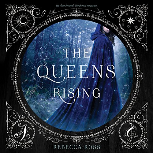 The Queen's Rising audiobook cover art