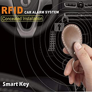 Burglar Alarm - Car Anti-Theft Immobilizer Engine hidden Lock Smart Dormant Electronic Lock Vehicle RFID Induction Alarm S...