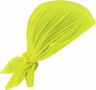 Ergodyne Chill-Its 6710CT Evaporative Cooling Dew Rag, Lime
