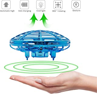 Richboom Hand Controlled Mini Drone for Kids Adults Boys Girls Gifts, Blue