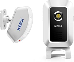 KERUI Wireless Split Welcome Motion Sensor Alert Alarm System Doorbell Door Bell with Long Range Receiver and Transmitter ...
