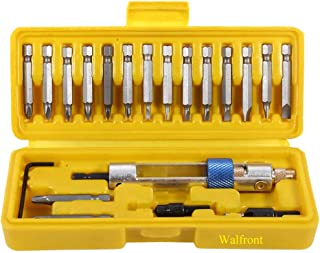 Drill Driver Screwdriver Set Revolving Head with Different Kinds of Drill Bits, Repair Tool Kits With Portable Box