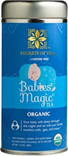 Sponsored Ad - Secrets Of Tea Babies' Magic Tea Colic Reliever, Gas, Acid Reflux Relief - Natural USDA Organic Caffeine-Fr...