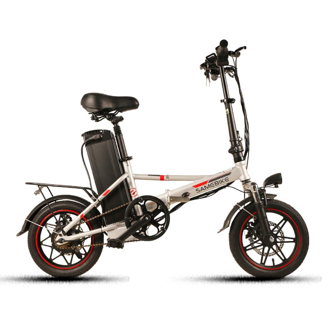 Samebike Bicicleta eléctrica 48V 10AH batería de Litio con Motor ...