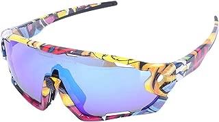 Flower falling Photochromic Bike Glasses Sport Sunglasses Goggles
