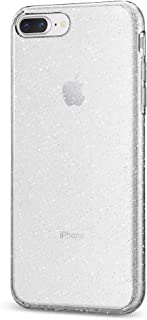 Spigen Liquid Crystal [2nd Generation] Designed for Apple iPhone 8 Plus Case (2017) / Designed for iPhone 7 Plus Case (2016) - Glitter Crystal Quartz