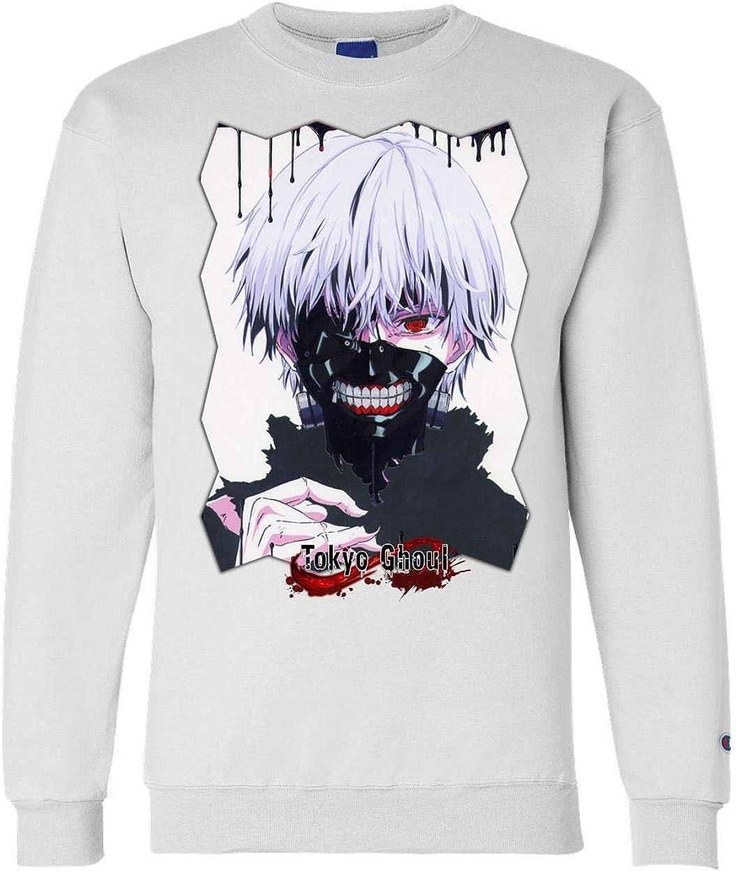 Tokyo Ghoul Anime 2021 Attention brand autumn and winter new Unisex Champion Sweatshirt TokG CRW Crewneck