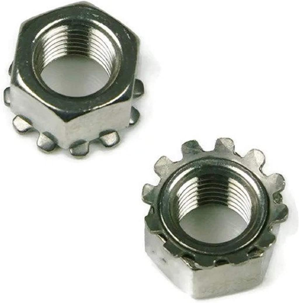 Oakland Mall Keps K-Lock Nuts 304 Stainless Steel - 250 Lock #6-32 New sales Pack