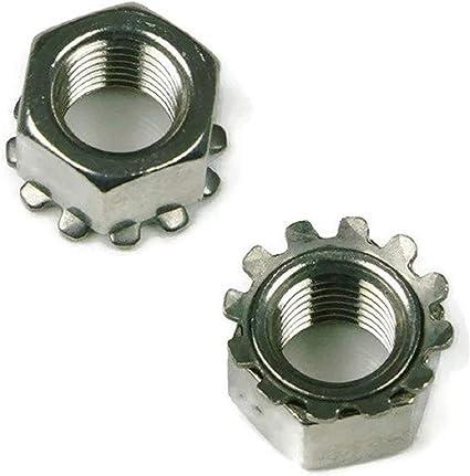 100 pieces 6-32 Coarse Kep Lock Nut