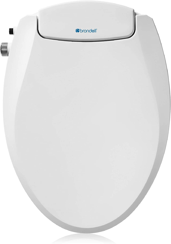 Brondell Swash Ecoseat Non-Electric Bidet Elon NEW before Las Vegas Mall selling ☆ Toilet Seat Fits
