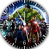 Avengers Ironman Thor Hulk Spiderman Wanduhr 25,4 cm Will Be Nice Gift und Raum Wand Decor E426