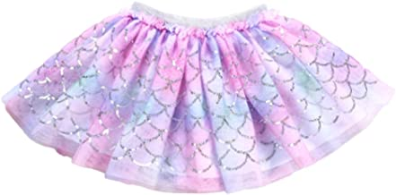 YOHA Baby Girls Tutu Dress Pom Pom Balls Soft Tulle Tutu Dress for Toddler Girls