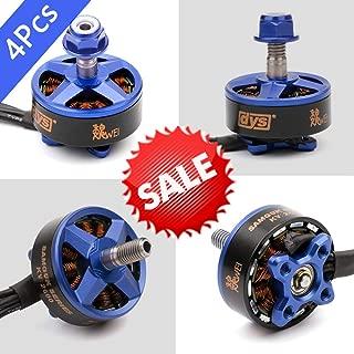 DYS 4pcs Sumguk Series Motor 2307 1750KV Brushless Motor CW 3-4S Lipo for RC FPV Racing Drone Quadcopter DIY