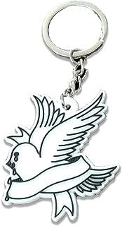 Lil Peep Dove Keychain Hip-Hop