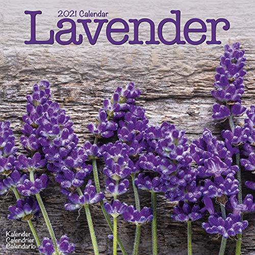 Garden Calendar - Lavender Calendar - Flower Calendar - Calendars 2020 - 2021 Wall Calendars - Garden Calendars - Flower Calendar - Lavendar 16 Month Wall Calendar by Avonside