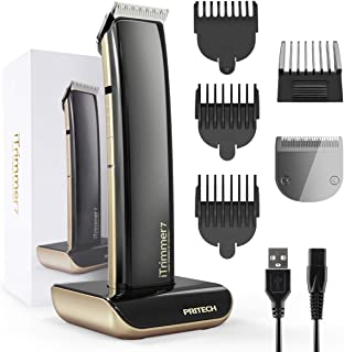 Hair Trimmers for Men,Cordless Electric Shaver Face Body Shaving Machine,Beard Trimmer Wireless Hair Trimmers & Clippers G...