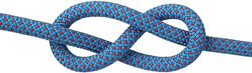 YYHSND Corde d'escalade Corde d'escalade de Sauvetage Corde de Chute de Corde Spider-Man Vitesse différentes Tailles de Couleur en Option Corde d'alpinisme (Couleur   G, Taille   10.5mm 40m)