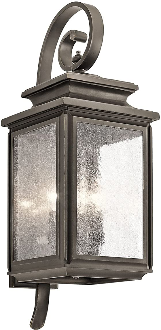 Kichler 49503OZ Four Light Outdoor Wall Mount