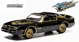 Greenlight Smokey and The Bandit 1977 Pontiac Trans Am, Black 44710A - 1/64 Scale Diecast Model Toy Car