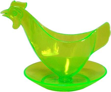 """Preisvergleich für Eierbecher """"Huhn"""" leuchtgrün - Der Kult-Eierbecher - Sonja-PLASTIC - Made in Germany"""