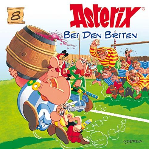 Asterix bei den Briten Titelbild