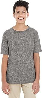 Gildan Youth Softstyle 45 oz T-Shirt - GRAPHITE HEATHER - L - (Style # G645B - Original Label)