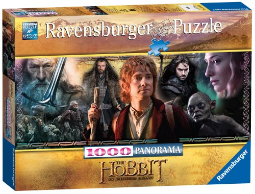 Ravensburger 15114 - The Hobbit: Zurück in Mittelerde-Puzzle, 1000 Teile