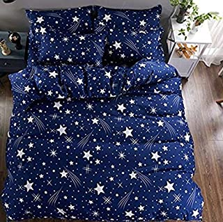 PRIDHI Super Soft Glace Cotton Single Bedsheet with 1 Pillow Cover (Fast color23)