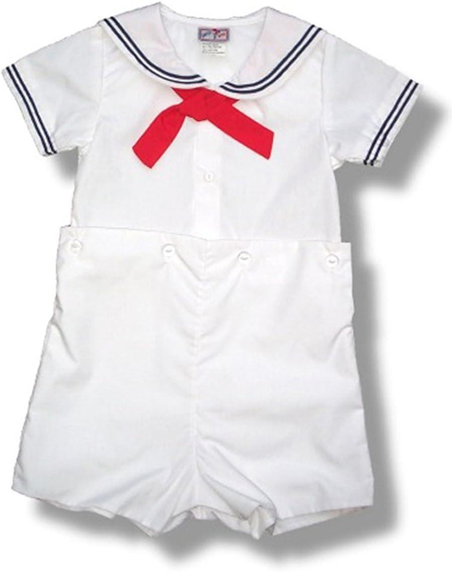 Petit Ami Boys Sailor Short Sizes Infant Free Shipping shipfree New Set White