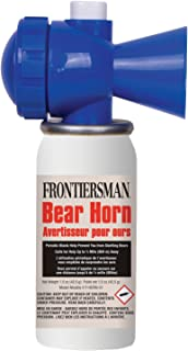 Frontiersman Bear   Horn   – Sound Heard Up to ½ Mile (805 M), Warn Bears & Give Them a Chance to Leave – Alert If Lost