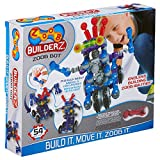ZOOB BuilderZ ZOOB Bot Moving Building Modeling System, 54 Piece Kids...