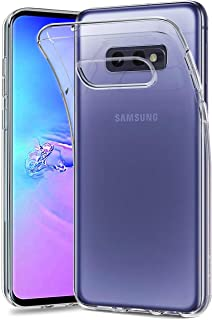 NEW'C Hoesje voor Samsung Galaxy S10e, siliconen TPU transparant - HD Crystal Clear
