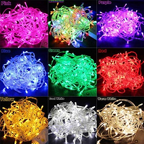 Led String Lights, Fairy Wire Christmas Clips, String Garland Christmas Tree Fairy Light Luce Waterproof Home Garden Party Outdoor Holiday Decoration