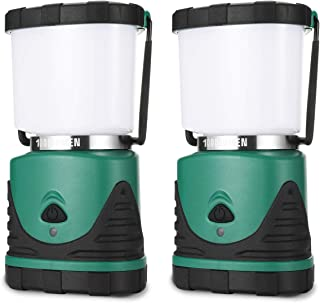 Consciot Camping Lantern with Super Brightness 1000LM, Battery Powered LED Lantern with 4 Lighting Modes, Waterproof, Port...