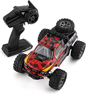 Buywin JJQ-Toys RC Cars Rremote Control Racing Car 4WD 2.4Ghz RC Cars 1:18 High Speed Rock Off-Road Racing Vehicle Crawler Pick up Truck Car Red