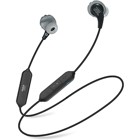 JBL Endurance RunBT, Sports in Ear Wireless Bluetooth Earphones with Mic, Sweatproof, Flexsoft eartips, Magnetic Earbuds, Fliphook & TwistLock Technology, Voice Assistant Support (Black)