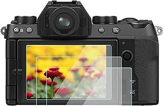 X-S10 skärmskydd kompatibelt med Fujifilm X-S10 X-T30 X-T20 X-T10 kamera [3-pack], KOMET härdat glas anti-bubbla anti-damm...