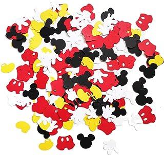 Disney Mickey Mouse Glitter Confetti Party Decor Ready to ship in 2-3 days!
