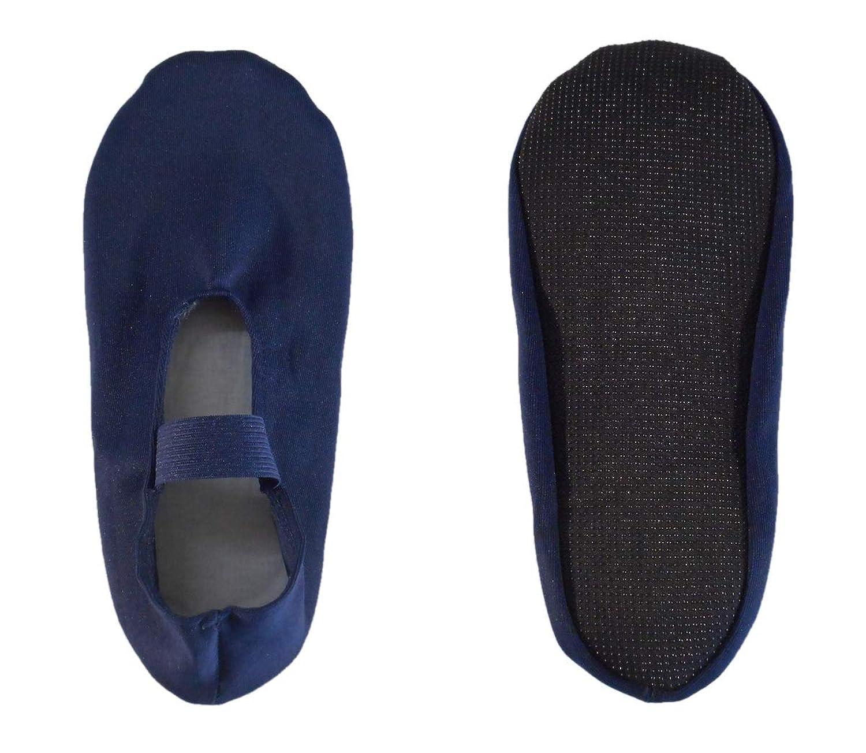 靴下カバー イージーカバー 2足組 足底すべり止め付き ゴムバンド付き エンジ?コン?クロ M/L/LL